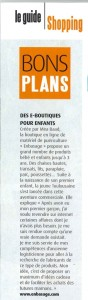 Mira Gaad membre du réseau égalitère présente son entreprise Enbasage, article de presse paru en janvier 2013 dans TOULOUSE MAG